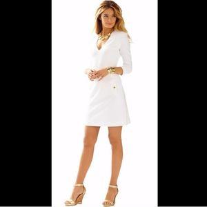 Lilly Pulitzer Charlene Deep V-Neck Shift Dress